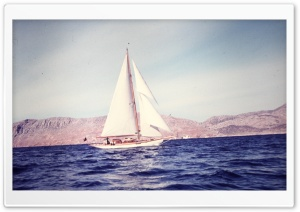 Sailing Boat Retro HD Wide Wallpaper for Widescreen