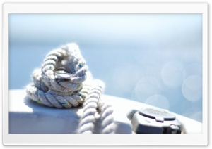 Sailing Rope Bokeh HD Wide Wallpaper for Widescreen