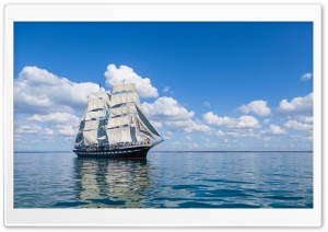 Sailing Ship HD Wide Wallpaper for 4K UHD Widescreen desktop & smartphone