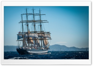 Sailing Ship Ultra HD Wallpaper for 4K UHD Widescreen desktop, tablet & smartphone