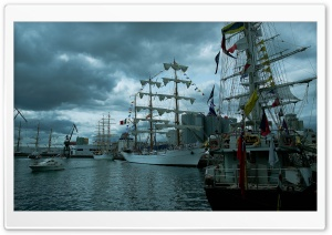 Sailing Ships Ultra HD Wallpaper for 4K UHD Widescreen desktop, tablet & smartphone