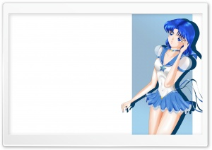 Sailor Mercury HD Wide Wallpaper for Widescreen