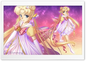 Sailor Moon Usagi HD Wide Wallpaper for 4K UHD Widescreen desktop & smartphone