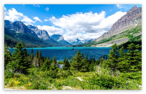 Saint Mary Lake Glacier National Park Ultra Hd Desktop