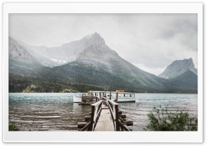 Saint Mary Lake, Glacier National Park, Montana Ultra HD Wallpaper for 4K UHD Widescreen desktop, tablet & smartphone