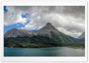 Saint Mary Lake, Glacier National Park, Montana, USA Ultra HD Wallpaper for 4K UHD Widescreen desktop, tablet & smartphone