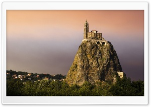Saint Michel d'Aiguilhe HD Wide Wallpaper for 4K UHD Widescreen desktop & smartphone