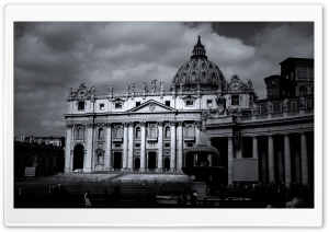 Saint Peters Basilica HD Wide Wallpaper for Widescreen