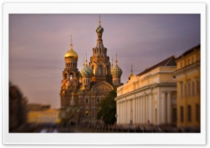 Saint Petersburg Church Russia HD Wide Wallpaper for Widescreen