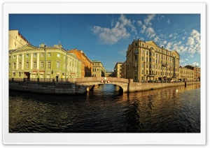 Saint Petersburg Embankment HD Wide Wallpaper for 4K UHD Widescreen desktop & smartphone