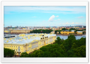 Saint Petersburg View HD Wide Wallpaper for 4K UHD Widescreen desktop & smartphone