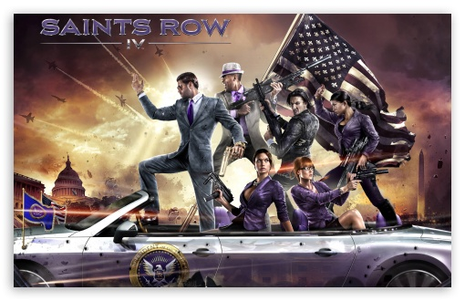 Saints Row IV HD wallpaper for Wide 16:10 5:3 Widescreen WHXGA WQXGA WUXGA WXGA WGA ; HD 16:9 High Definition WQHD QWXGA 1080p 900p 720p QHD nHD ; Standard 3:2 Fullscreen DVGA HVGA HQVGA devices ( Apple PowerBook G4 iPhone 4 3G 3GS iPod Touch ) ; Mobile 5:3 3:2 16:9 - WGA DVGA HVGA HQVGA devices ( Apple PowerBook G4 iPhone 4 3G 3GS iPod Touch ) WQHD QWXGA 1080p 900p 720p QHD nHD ;