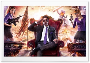 Saints Row IV HD Wide Wallpaper for Widescreen