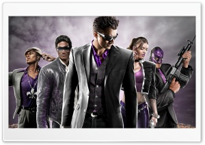 Saints Row The Third HD Wide Wallpaper for Widescreen