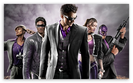 Saints Row The Third HD wallpaper for Wide 5:3 Widescreen WGA ; HD 16:9 High Definition WQHD QWXGA 1080p 900p 720p QHD nHD ; Mobile 5:3 16:9 - WGA WQHD QWXGA 1080p 900p 720p QHD nHD ;