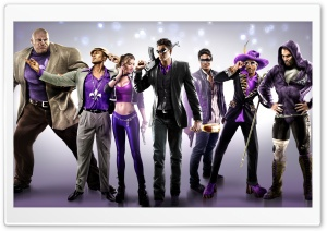 Saints Row The Third, Gang, Video Game HD Wide Wallpaper for Widescreen
