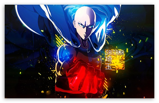 Saitama One Punch Man Ultra Hd Desktop Background Wallpaper