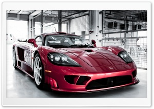 Saleen S7 Twin Turbo Red HD Wide Wallpaper for Widescreen