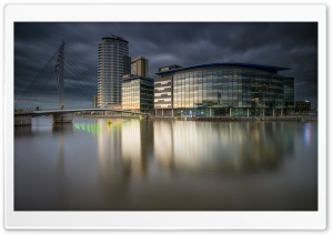 Salford Quays Ultra HD Wallpaper for 4K UHD Widescreen desktop, tablet & smartphone