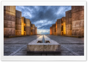 Salk Institute HD Wide Wallpaper for Widescreen