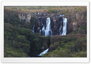 Salto do Corumbá - Corumbá Waterfalls HD Wide Wallpaper for 4K UHD Widescreen desktop & smartphone