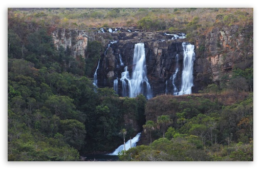 Salto do Corumbá - Corumbá Waterfalls HD wallpaper for Standard 4:3 5:4 Fullscreen UXGA XGA SVGA QSXGA SXGA ; Wide 16:10 5:3 Widescreen WHXGA WQXGA WUXGA WXGA WGA ; HD 16:9 High Definition WQHD QWXGA 1080p 900p 720p QHD nHD ; Other 3:2 DVGA HVGA HQVGA devices ( Apple PowerBook G4 iPhone 4 3G 3GS iPod Touch ) ; Mobile VGA WVGA iPhone iPad PSP Phone - VGA QVGA Smartphone ( PocketPC GPS iPod Zune BlackBerry HTC Samsung LG Nokia Eten Asus ) WVGA WQVGA Smartphone ( HTC Samsung Sony Ericsson LG Vertu MIO ) HVGA Smartphone ( Apple iPhone iPod BlackBerry HTC Samsung Nokia ) Sony PSP Zune HD Zen ; Tablet 2 Android 3 DVGA HVGA HQVGA devices ( Apple PowerBook G4 iPhone 4 3G 3GS iPod Touch ) ;