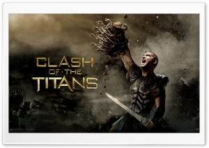 Sam Worthington as Perseus, Clash Of The Titans HD Wide Wallpaper for Widescreen