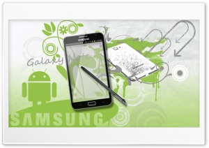Samsung Galaxy Note - Phone + Tablet HD Wide Wallpaper for Widescreen