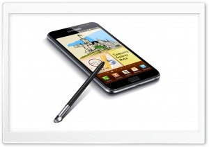 Samsung Galaxy Note - S Pen HD Wide Wallpaper for Widescreen