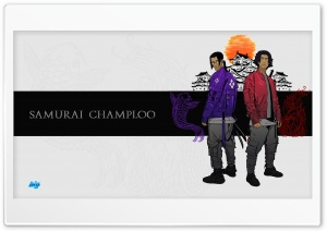 Samurai Champloo Ultra HD Wallpaper for 4K UHD Widescreen desktop, tablet & smartphone