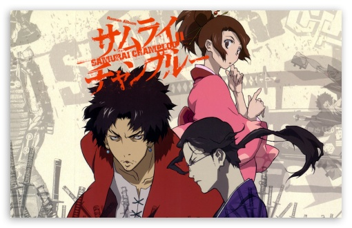 Samurai Champloo Mugen Jin And Fuu 4k Hd Desktop