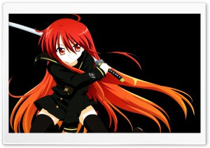 Samurai Girl Anime HD Wide Wallpaper for Widescreen