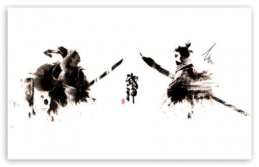 Samurai Ink-Splatter ❤ 4K UHD Wallpaper for Wide 16:10 5:3 Widescreen WHXGA WQXGA WUXGA WXGA WGA ; 4K UHD 16:9 Ultra High Definition 2160p 1440p 1080p 900p 720p ; Mobile 5:3 16:9 - WGA 2160p 1440p 1080p 900p 720p ;