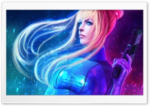 Samus Aran - Metroid HD Wide Wallpaper for 4K UHD Widescreen desktop & smartphone