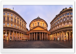 San Carlo al Corso church, Milan, Italy HD Wide Wallpaper for 4K UHD Widescreen desktop & smartphone