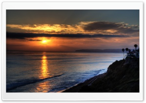 San Clemente Sunset HD Wide Wallpaper for Widescreen