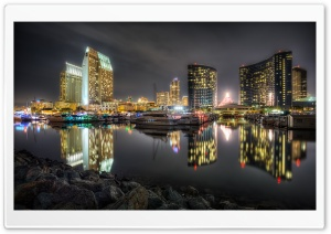 San Diego Bay HD Wide Wallpaper for 4K UHD Widescreen desktop & smartphone