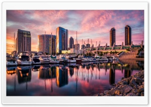 San Diego Boats HD Wide Wallpaper for 4K UHD Widescreen desktop & smartphone
