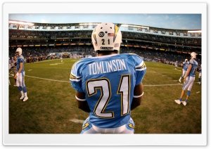 San Diego Chargers   LaDainian Tomlinson HD Wide Wallpaper for Widescreen