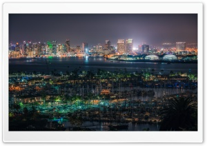 San Diego City, California, USA HD Wide Wallpaper for 4K UHD Widescreen desktop & smartphone