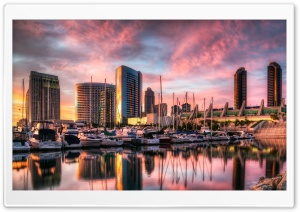 San Diego Harbor HD Wide Wallpaper for 4K UHD Widescreen desktop & smartphone