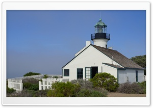 San Diego, Point Loma Lighthouse HD Wide Wallpaper for Widescreen