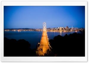 San Francisco Bay Bridge Ultra HD Wallpaper for 4K UHD Widescreen desktop, tablet & smartphone