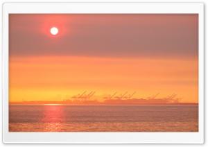 San Francisco Bay Orange Sunrise Ultra HD Wallpaper for 4K UHD Widescreen desktop, tablet & smartphone