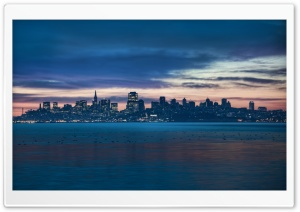 San Francisco before Sunrise HD Wide Wallpaper for Widescreen