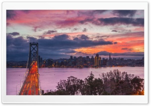 San Francisco Bridge HD Wide Wallpaper for Widescreen