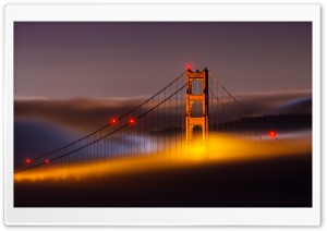 San Francisco Bridge Side HD Wide Wallpaper for Widescreen