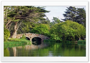 San Francisco, Golden Gate Park   Stow Lake HD Wide Wallpaper for Widescreen