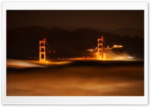 San Francisco in the Fog HD Wide Wallpaper for 4K UHD Widescreen desktop & smartphone