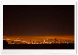 San Francisco Lights HD Wide Wallpaper for 4K UHD Widescreen desktop & smartphone